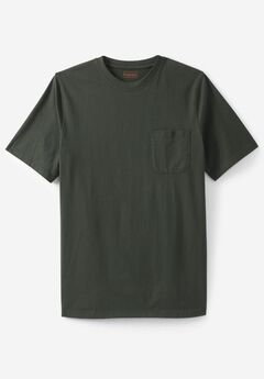 Heavyweight Crewneck Pocket Tee by Boulder Creek®,