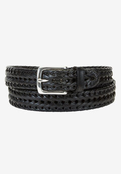 Braided Belt by Dockers®, BLACK, hi-res