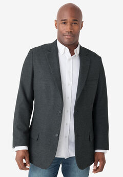 Casual Blazer by Liberty Blues®, CHARCOAL, hi-res