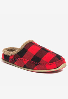 Nordic Indoor-Outdoor Slipper by Deer Stags®, RED PLAID