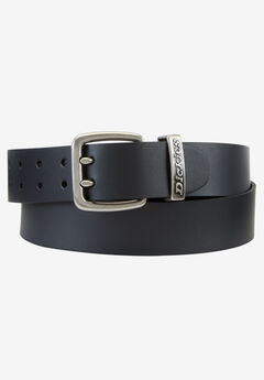 Casual Logo Belt by Dickies®, BLACK, hi-res