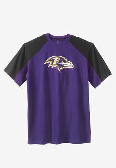 NFL® Pieced Ringer T-Shirt, RAVENS