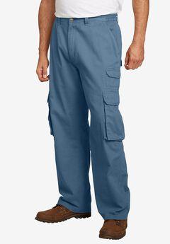 Side-Elastic Ranger Cargo Pants by Boulder Creek®, SLATE BLUE, hi-res