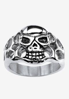 Openwork Skull Ring,