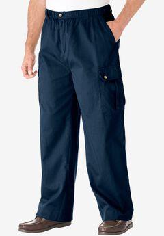 Knockarounds® Cargo Pants with Full Elastic Waist, NAVY, hi-res