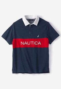 Nautica® Classic Fit Color Block Polo Shirt,