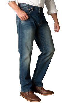 Levi's® 541™ Athletic Taper Jeans, MIDNIGHT, hi-res
