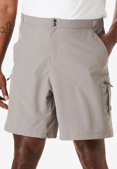 Cargo Shorts by Reel Life®, MEDIUM GREY, hi-res