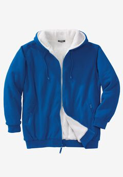 Explorer Fleece Full-Zip Hoodie, ROYAL BLUE