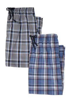 Hanes® 2-Pack Woven Lounge Pants,