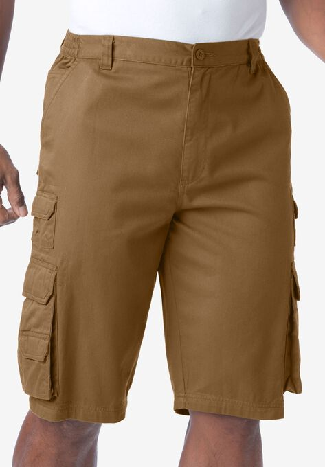 7187ee4856 Ranger Side-Elastic Cargo Shorts by Boulder Creek®