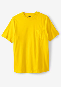 Lightweight Pocket Crewneck T-Shirt,