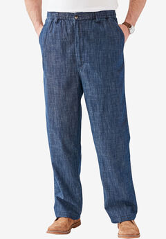 Knockarounds® Plain Front Pants in Twill or Denim,