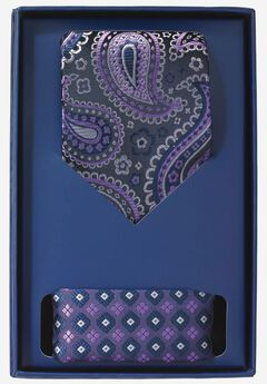 Tie and Pocket Square Gift Set,
