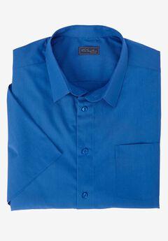 No Hassle® Short-Sleeve Dress Shirt by KS Signature, DRESS BLUE, hi-res