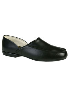 L.B. Evans Chicopee Leather Moc Slippers,