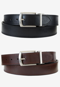 Reversible Belt by Dickies®, BLACK BROWN, hi-res