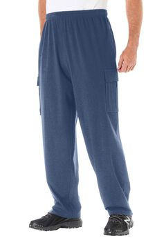 Lightweight Cargo Sweats, CROWN BLUE, hi-res