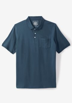 Classic Fit Stretch Polo by Liberty Blues®, BLUE INDIGO