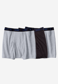 Hanes® X-Temp Boxer Briefs 3-Pack, ASSORTED, hi-res