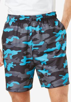 Shorts by KS Sport™ , ELECTRIC TURQUOISE CAMO, hi-res
