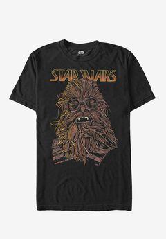 Star Wars Graphic Tee, STRING CHEWIE, hi-res