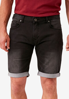 Super Stretch Denim Shorts by Replika®,
