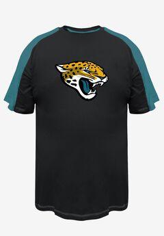 NFL® Pieced Ringer T-Shirt, JAGUARS