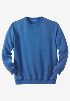 Lounge Sweatshirt, ROYAL BLUE, hi-res