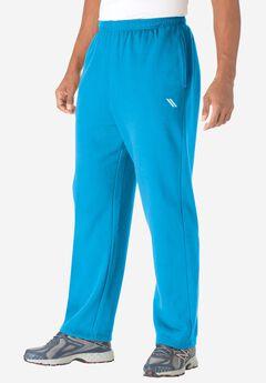 Wicking Fleece Open Bottom Pants by KS Sport™,