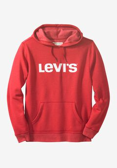 Logo Pullover Hoodie by Levi's®, CRIMSON, hi-res