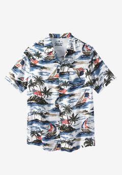 Americana Rayon Shirt by Liberty Blues®,