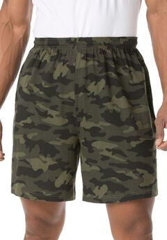 Lightweight Basic Shorts, CAMO, hi-res