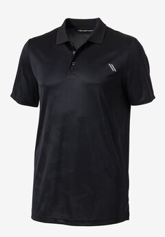 Force Cool Polo by KS Sport™, BLACK, hi-res