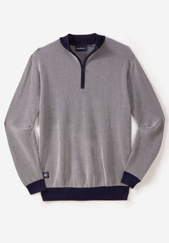 1/4 Zip Knit Sweater by North 56°4®,