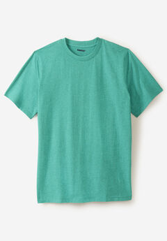 Shrink-Less™ Lightweight Crewneck Pocketless Tee ,