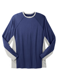 Crewneck Base Layer by KS Sport™, MIDNIGHT NAVY, hi-res