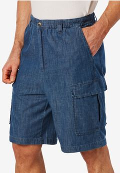 Knockarounds® 8' Cargo Shorts, STONEWASH, hi-res