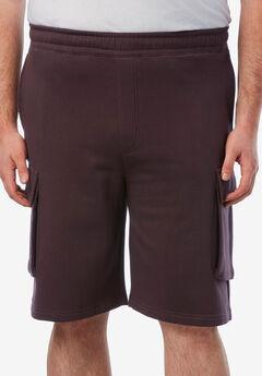Fleece Cargo Shorts ,