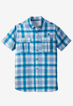 Off-Shore Short Sleeve Sport Shirt by Boulder Creek®,