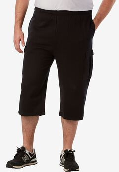 Fleece Judo Shorts, BLACK, hi-res