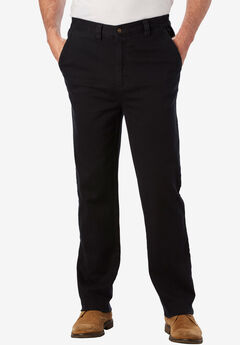 Relaxed Fit 5-Pocket Stretch Chino by Liberty Blues®,