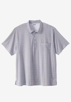 Lightweight Golf Polo Shirt With Pocket,