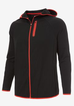 Comfort Cool Moisture Wicking Jacket by KS Sport™, BLACK, hi-res