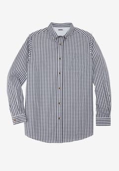 Wrinkle-Resistant Long Sleeve Sport Shirt,