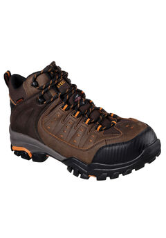 Delleker Lakehead Steel-Toe Work Boot by Skechers®,