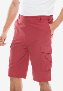 Canyon Cargo Shorts, HARBOR RED, hi-res