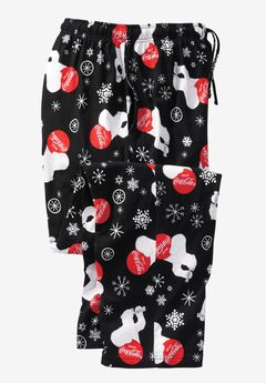 Holiday Pajama Pants, COCA COLA