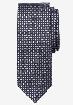 Extra Long Geometric Tie,