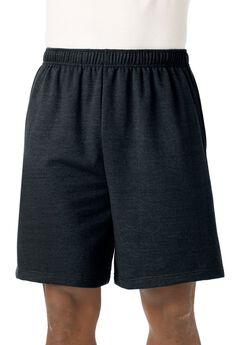 Fleece Comfort Shorts, BLACK, hi-res